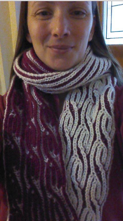 charlielaver's Brioche Twister pattern by Renée Callahan