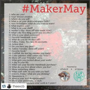 MakerMay on Instagram