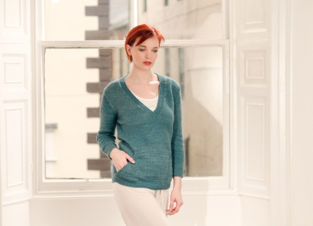 Zen Variations Knitting pattern by Renée Callahan-16