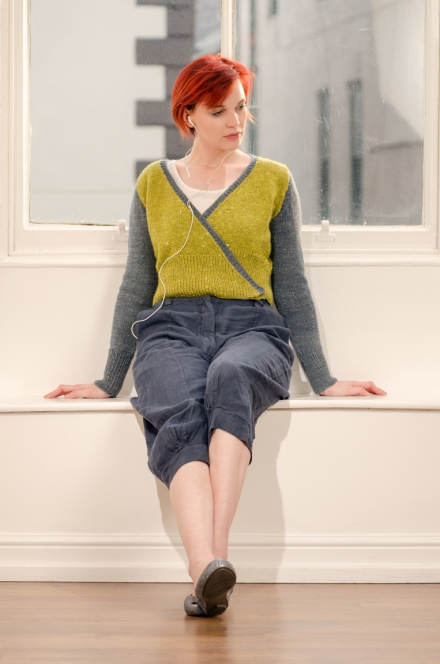 Zen Variations Yama Knitting pattern by Renée Callahan-42